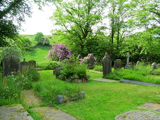 St. Mary's Church graveyard in Cottonstones.
