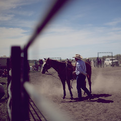 {The Lone Ranger was Not Alone} (Aaron Anfinson) Tags: usa rural america cowboy farm rodeo dakota loneranger aaronanfinson