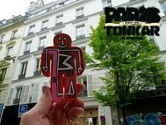 Men at work by Tarek // Paris, 2014 (Pegasus & Co) Tags: urban streetart art colors painting graffiti stencil paste arts picture dessin menatwork worldwide rue couleur artistes  urbain tarek    gomtrique  geometrik urbart artistical       menatworkgirl