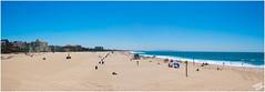 Santa Monica Beach Panorama (FOXTROT|ROMEO) Tags: ocean california santa ca venice sea beach sign cali strand canon eos la pier los meer pacific angeles 66 route monica westcoast kalifornien ozean ncis 70d eos70d