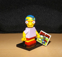 Milhouse in the house (meike__1995) Tags: bag lego blind simpsons figures 2014