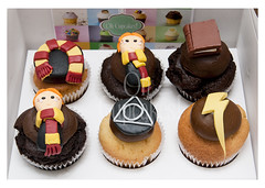 Cupcakes tematica Harry Potter (Oh Cupcakes!) Tags: harrypotter laplata ohcupcakes cupcakesenlaplata cupcakesharrypotter cupcakesdediseo
