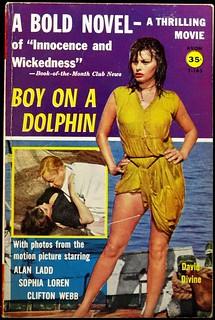 Avon T-165 (1957). Movie Tie-In. Photo Cover with Sophia Loren