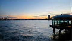 """Sunset Over Wharf"" Milsons Point, Sydney, Australia (May 2014) (Kommie) Tags: sunset point tripod sydney australia lee fujifilm filters hdr milsons 14mm photomatix tonemapped xt1 f28r"