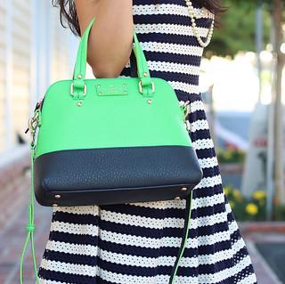 Kate Spade Colorblock purse