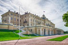 Konstantinovsky Palace. Strelna, Saint-Petersburg.  Константиновский дворец в Стрельне.