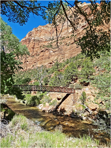 Zion NP, Angel's Landing Trail Bridge 5-1-14zxc