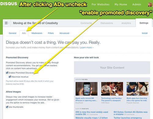 disable promoted discovery on Disqus by Wesley Fryer, on Flickr