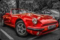 1991 TVR V8S (Suggsy69) Tags: car nikon automobile tvr selectivecolour d5200