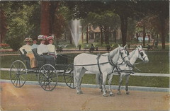 """SW Kalamazoo MI 1907 began as Lull & Skinner Company then Linford C. Lull Carriage and Sleigh Company Incorporated in 1902 Dirt Street Horse and Buggy and early Automobile Era- (UpNorth Memories - Donald (Don) Harrison) Tags: travel usa heritage history tourism vintage antique michigan postcard memories restaurants hotels trailer roadside upnorth cafes attractions motels cottages cabins campgrounds upnorthmemories rppc wonders"""" """"michigan memories"""" parks"""" entertainment"""" """"natural harrison"""" """"roadside """"travel """"don """"tourist stops"""" """"upnorth"""