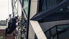 When I Go Window Cleaning (Sean Batten) Tags: city windows england urban london glass lines architecture nikon unitedkingdom steel gherkin d800 windowcleaners 2470