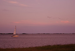 Southport NC (titrisol) Tags: sunset seascape pentax southport