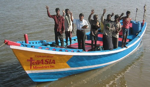 New boats for Tsunami victims