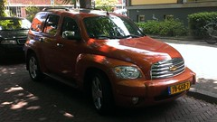 Chevrolet HHR (sjoerd.wijsman) Tags: auto orange holland cars chevrolet netherlands car gm nederland thenetherlands delft voiture vehicle holanda autos minivan paysbas olanda fahrzeug niederlande mpv generalmotors zuidholland hhr carspotting ccar chevrolethhr carspot 78ggb7 sidecode7
