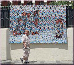 you'd better smile! (mhobl) Tags: man art smile children photography women morocco photographs maroc tangier tanger