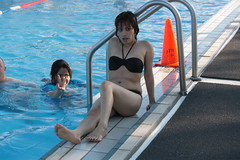Pool Time (Firehand10k) Tags: friends water swimming fun korea pinay filipina pooltime dongducheon campcasey