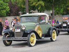 Classic car (jamica1) Tags: canada bc okanagan may columbia days parade british kelowna rutland 2014