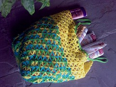 Crochet Market Bag (LauraLRF) Tags: thread bag market crochet cotton hilo bolsa challenge compras algodon ganchillo mandados
