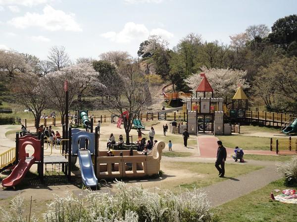 他にも児童向けの公園があります。|大高緑地