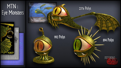 "MTN : Eye Monsters [ by nemoriko ] • <a style=""font-size:0.8em;"" href=""http://www.flickr.com/photos/29628042@N05/14359300164/"" target=""_blank"">View on Flickr</a>"