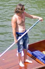 Taking the Punt In (MalB) Tags: cambridge shirtless pentax cam punting k5 punt