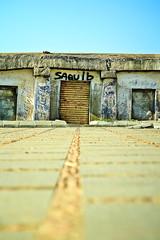 Leading to (pradeep javedar) Tags: abandoned lines 50mm graffiti store ruins doors bangalore front hills nandi leading mundane 50mmf18 canon600d
