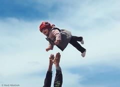 Gift from Heaven  هدیه آسمانی (Hadi Nikkhah) Tags: baby canon fly heaven child iran gift ایران بچه کودک azarbaijan آسمان پرواز آذربایجان هدیه هوا کانن