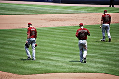 Braves VS Diamondbacks (grantdaws) Tags: atlanta arizona game home sports field sport baseball stadium run strike turner braves diamondbacks