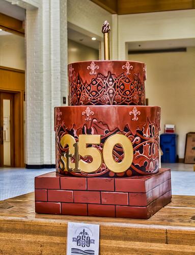 Wainwright Building cake