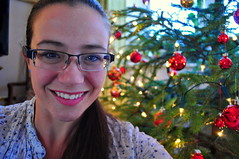 359.365 Happy Christmas! (charlottehbest) Tags: christmas decorations home smile smiling happy lights glasses selfportraits christmastree year2 365 brunette merrychristmas happychristmas baubles crimbo 359 day359 selfies project365 365days 2013 happytobehome 359365 charlottehbest 3652013