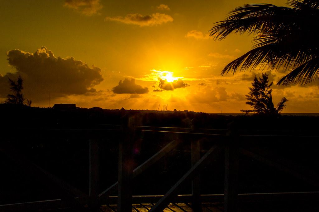 Coucher de soleil et silouhettes - Meliá Las Dunas - Cuba