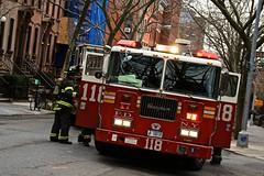 118 (tinfrey) Tags: usa ny newyork brooklyn truck fire 118