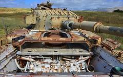 Tanks 4 (orientalizing) Tags: desktop israel rust golanheights golan tanks featured