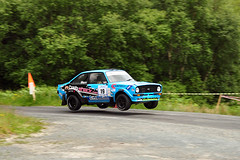 Donegal International Rally 2014 (Enda Healy) Tags: ireland ford jump nikon fiesta action rally fast international wrc subaru mk2 impreza escort donegal itrc rallysport 2014 d90