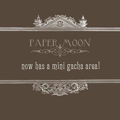 *paper moon* Mini Gacha area (the_innocence) Tags: pm papermoon gacha gachamachine gachagame papermoon8
