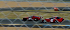 Red duet, Le Mans Classic 2014 (Thibault Gaulain) Tags: france classic ford rain night nikon pluie racing mans le alfa romeo 40 gt nuit lemans v8 v10 v6 v12 2014 nikond3200 d3200 lemansclassic2014