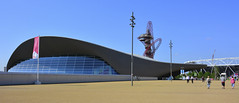 The Aquatics Centre (Martin Pettitt) Tags: city summer london architecture dslr legacy olympicpark stratford queenelizabeth olympics2012 2014 aquaticscentre olympicswimmingpool londongames stockcategories afsdxvrzoomnikkor18200mmf3556gifedii nikond7100