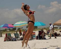 Gulf Shores Beach Volleyball Tournament (Garagewerks) Tags: woman beach girl sport female court sand all child gulf sony sigma tournament volleyball shores 50500mm views50 views100 views150 f4563 slta77v