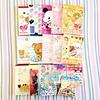 kawaiiya (mini) haul. (JU671NE♡) Tags: cute paper sanrio kawaii stationery crux qlia fortissimo sanx kamio mindwave poolcool cramcream lemonco