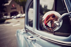 (Ashley Foreman) Tags: selfportrait reflection classic beautiful car bc oldschool adventure explore pontiac sideview safeway sunshinecoast powellriver