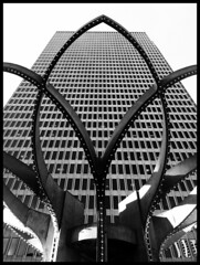 new perspectives (eb78) Tags: sf sanfrancisco california ca blackandwhite bw monochrome architecture embarcadero grayscale greyscale iphone iphoneography