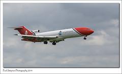 Boeing 727, RAF Waddington Airshow 2014 (Paul Simpson Photography) Tags: uk england airplane inflight aircraft jet aeroplane lincolnshire boeing727 photosof imagesof oilspillresponse sonya77 paulsimpsonphotography boeing7272s2f july2014 gosra rafwaddingtonairshow2014