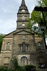 St. Cuthberts Church, Edinburgh (David_Leicafan) Tags: sculpture church edinburgh spire sundial stcuthberts alexanderhandysideritchie 28mmelmaritv4 hippolytejblanc