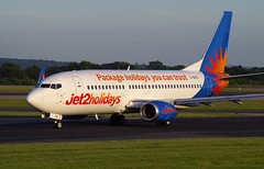 Jet2 Holidays Boeing 737-3U3(WL) - G-GDFO - Manchester Airport - 12th June 2014 - 05 (J.E.T. 603) Tags: manchester cheshire aircraft aviation boeing airliner 737 airfield manchesterairport ringway runwayvisitorpark jet2holidays ggdfo airviewingpark