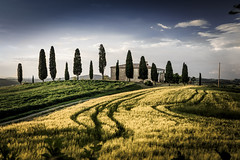 "Tuscany: Villa ""I Cipressini"" (Frederic Huber 