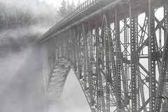 Deception (**El-Len**) Tags: bridge usa fog us washington fav50 steel deceptionpass gettyimages fav25 fav100 flickrmarketplace