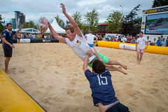 IMG_9746 (Zefrog) Tags: uk london sport rugby canarywharf beachrugby zefrog