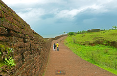BEKAL FORT, KASARGOD, KERALA, INDIA (GOPAN G. NAIR [ GOPS Photography ]) Tags: india green tourism rain photography fort kerala monsoon nair gops kasargod bekal gopan gopsorg gopangnair gopsphotography