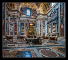 The Other Sistine Chapel (MikeJDavis) Tags: rome church interior basilica stamariamaggiore