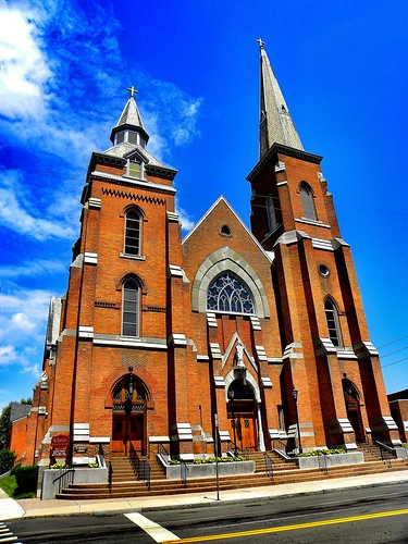 Elmira (NY) United States  City new picture : Elmira Ny ~ St. Patrick's Catholic Church ~ Historical Church by ...